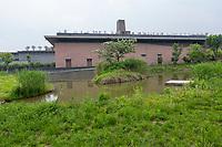 Suzhou, Jiangsu, China.  Suzhou Museum of Imperial Kiln Brick.
