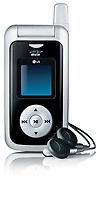 """Doté d'un lecteur MP3 intégré, accès à des fonctions de téléchargement de chansons complètes à partir de la Boutique de musique Bell et seul téléphone au Canada à posséder un émetteur FM intégré, le LG FUSIC(MC) permet aux clients d'écouter de la musique sur leur téléphone ou sur toute chaîne stéréo munie d'un récepteur FM – en mode """" sans fil """". (Groupe CNW/Bell Canada)"""