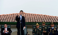 BOGOTÁ - COLOMBIA, 01-06-2013 Juan Manuel Santos, presidente de Colombia realiza su discurso durante la ceremonia de ascensos del Ejercito Nacional de Colombia./ Colombian president Juan Manuel Santos during his speech on the promotion ceremony of National Army of Colombia. Photo: VizzorImage /  Andrés Piscov - SIG /HANDOUT PICTURE; MANDATORY USE EDITORIAL ONLY/