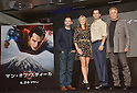 Man of steel promotional tour in Japan