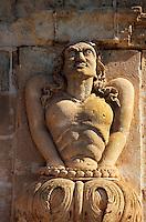 Spanien, Menorca,Deatail am  Palau Torre Saura in Ciutadella