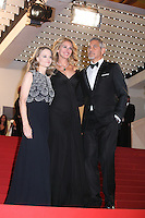 DIRECTOR JODIE FOSTER, JULIA ROBERTS AND GEORGE CLOONEY - RED CARPET OF THE FILM 'MONEY MONSTER' AT THE 69TH FESTIVAL OF CANNES 2016
