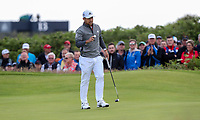 180719 | The 148th Open - Day 1<br /> <br /> Xander Schauffele of USA on the 1st green the 148th Open Championship at Royal Portrush Golf Club, County Antrim, Northern Ireland. Photo by John Dickson - DICKSONDIGITAL