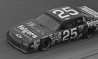 Ken Schrader #25 Chevrolet Daytona 500 at Daytona International Speedway in Daytona Beach, FL on February 14, 1988. (Photo by Brian Cleary/www.bcpix.com)