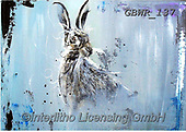 Simon, REALISTIC ANIMALS, REALISTISCHE TIERE, ANIMALES REALISTICOS, innovative, paintings+++++A_AidanS_InTheMist,GBWR137,#a#, EVERYDAY,rabbit