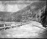 Frederick Stone negative. Naugatuck Road above Beacon Falls. Undated photo