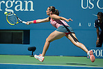 Roberta Vinci  loses to Flavia Pannetta 6-4, 6-1, in an all-Italian quarterfinal at the US Open being played at USTA Billie Jean King National Tennis Center in Flushing, NY on September 4, 2013