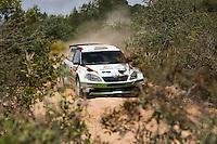 Sepp Wiegand and Frank Christian, Skoda Fabia S2000 of SKODA AUT0 DEUTSCHLAND during WRC Vodafone Rally de Portugal 2013, in Algarve, Portugal on April 11, 2013 (Photo Credits: Paulo Oliveira/DPI/NortePhoto)