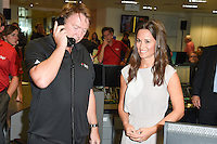 Pippa Middleton<br /> on the trading floor for the BGC Charity Day 2016, Canary Wharf, London.<br /> <br /> <br /> ©Ash Knotek  D3152  12/09/2016
