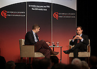 Montreal. CANADA -<br />Geoff Molson, President & CEO of Club de hockey Canadien & evenko deliver a speech to the Canadian Club of Montreal, on  September 22, 2014.<br /><br />File Photo : Agence Quebec Pressse  - Pierre Roussel