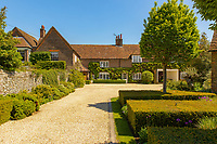 BNPS.co.uk (01202) 558833. <br /> Pic: Savills/BNPS<br /> <br /> Pictured: Annables Manor. <br /> <br /> A wheely rare opportunity...<br /> <br /> A grand country manor with a 300-year-old donkey wheel is on the market for £4.95m.<br /> <br /> The donkey wheel at Annables Manor, one of only two still in existence in England, was built in the 17th century and used to draw water from the 145ft well.<br /> <br /> The Grade II listed manor house near Harpenden, Herts, is one of the finest country houses in the area and as well as its unusual historic feature it has a heated swimming pool and tennis court in its 5.34 acres of land.<br /> <br /> The seven-bedroom home has lots of impressive features including oak beams, open fireplaces and solid oak floors.