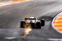 27th August 2021; Spa Francorchamps, Stavelot, Belgium: FIA F1 Grand Prix of Belgium, free practise: 99 Antonio Giovinazzi ITA, Alfa Romeo Racing ORLEN