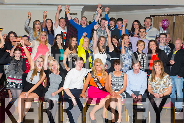 Ciara O'Connor, Curraheen Tralee, celebrates her 21st Birthday with family and friends at Kerins O'Rahillys Clubhouse on Saturday