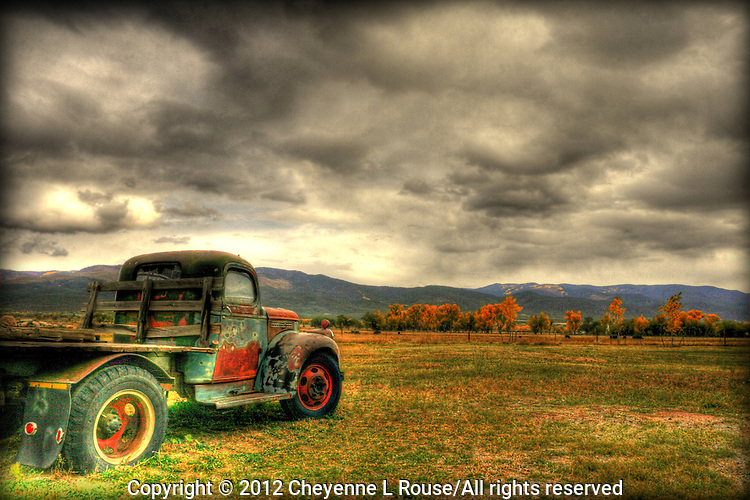 Old GMC Truck <br /> Taos, New Mexico