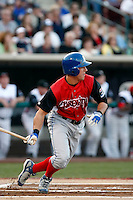 David Lough ---  At the annual California League-Carolina League all-star game at the Diamond in Lake Elsinore, CA - 06/23/2009. The game was won by the California League, 2-1, on a walk-off homerun by Lancaster's Jon Gaston..Photo by:  Bill Mitchell/Four Seam Images