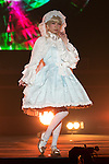 A model wearing fashion brand KERA walks down the catwalk during the Moshi Moshi Nippon Festival 2016 on November 26, 2016 in Tokyo, Japan. Moshi Moshi Nippon Festival 2016 aims to promote Japanese pop culture (fashion, anime, technology, music and food) to the world, and non-Japanese visitors are able to enter the event for free by showing their passport. This year's two day event included live shows by Japanese pop stars Silent Siren, Dempagumi.inc, Tempura Kids, Capsule and Kyary Pamyu Pamyu at the Tokyo Metropolitan Gymnasium. (Photo by Rodrigo Reyes Marin/AFLO)