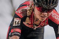 Laura Verdonschot (BEL/Pauwels Sauzen-Bingoal)<br /> <br /> Women's Race<br /> UCI Cyclocross World Cup Namur 2020 (BEL)<br /> <br /> ©kramon