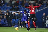 the Sky Bet Championship match between Cardiff City and Ipswich Town at The Cardiff City Stadium, Cardiff, Wales, UK. Tuesday 31 October 2017