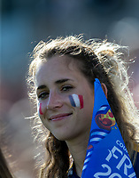 GRENOBLE, FRANCE - JUNE 22: WWC 2019 fan during a game between Panama and Guyana at Stade des Alpes on June 22, 2019 in Grenoble, France.