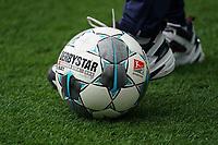 Derbystar Fußball der 2. Bundesliga - 29.02.2020: SV Darmstadt 98 vs. 1. FC Heidenheim, Stadion am Boellenfalltor, 24. Spieltag 2. Bundesliga<br /> <br /> DISCLAIMER: <br /> DFL regulations prohibit any use of photographs as image sequences and/or quasi-video.