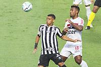 São Paulo (SP), 10/01/2021 - São Paulo-Santos - Sandry e Luan. Partida entre São Paulo e Santos válida pelo Campeonato Brasileiro neste domingo (10) no estádio do Morumbi em São Paulo.