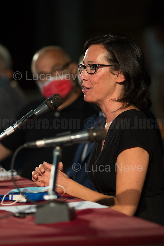 """Ilaria Cucchi.<br /> <br /> Genoa (Genova, Liguria), Italy. 19th, 20th, 21st July 2021. Twenty years after the dramatic and terrifying events related to the 2001 Genoa's G8 meeting, according to Amnesty International: """"the most serious suspension of democratic rights in a Western country since the Second World War"""" (1.) and as stated on the 2001 """"Report on the situation of fundamental rights in the EU"""" the European Parliament's """"deplores the suspensions of fundamental rights that took place during public demonstrations, and in particular at the G8 meeting in Genoa, such as freedom of expression, freedom of movement, the right to physical integrity"""" (2.). As a reminder, the City of Genoa is State Gold Medal (Medaglia D'Oro) for its Antifascist Resistance in World War II.<br /> <br /> In these three days, throughout a series of events, Genoa and its People, survivors and witnesses, experts and activists, remembered what happened 20 years ago, discussed the present situation of a world dominated by """"casino capitalism"""", predatory neo-liberalism, wars, rightless globalization, environmental and ecosystem degradation, doped consumerism, sources' depredation, fake news, internet deregulated jungle, the reality of climate change and pandemics, and what a different future and society could be.<br /> <br /> FOR MORE INFO READ THE ARTICLE AT THE BEGINNING OF THIS STORY.<br /> <br /> Footnotes, Links:<br /> 1. http://bit.do/fRvdg<br /> 2. http://bit.do/fRvdi<br /> 3. http://bit.do/fRvdj<br /> 4. http://bit.do/fRvdn<br /> 5. http://bit.do/fRvdo<br /> 6. 12.10.18 - Sulla Mia Pelle: Stefano Cucchi's Film Screening At CSOA La Strada http://bit.do/fRvdr<br /> 7. http://bit.do/fRvdt & http://bit.do/fRvdu<br /> 8. http://bit.do/fRvdv & http://bit.do/fRvdw & http://bit.do/fRvdx<br /> 9. http://bit.do/fRvdz<br /> 10. http://bit.do/fRvdA<br /> 11. http://bit.do/fRvdB<br /> http://www.veritagiustizia.it/docs/G8_2021_prog_ITA.pdf http://www.veritagiustizia.it/doc_eng/<br /> https://www.car"""