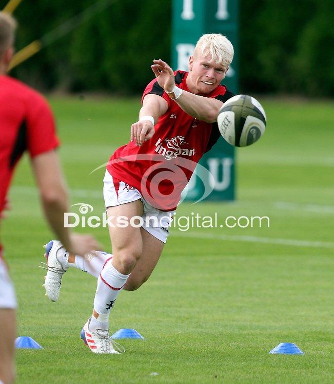 Saturday 18th September 2021<br /> <br /> Lewis Finlay during the Development A Interprovincial game Ulster A and Munster A at the IRFU High Performance Centre, Dublin, Ireland. Photo by John Dickson/Dicksondigital