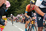 Mikel Landa (ESP) Bahrain McLaren climbs Col de Marie Blanque during Stage 9 of Tour de France 2020, running 153km from Pau to Laruns, France. 6th September 2020. <br /> Picture: Colin Flockton   Cyclefile<br /> All photos usage must carry mandatory copyright credit (© Cyclefile   Colin Flockton)