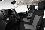 Front seat view of a 2017 Citroen Space Tourer Business 4 Door Passenger Van front seat car photos