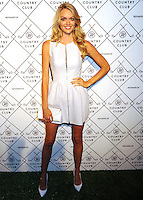 NEW YORK CITY, NY, USA - SEPTEMBER 04: Model Lindsay Ellingson arrives at the Refinery29 Country Club Launch & NYFW Kick-Off Party held at 82 Mercer on September 4, 2014 in New York City, New York, United States. (Photo by Celebrity Monitor)