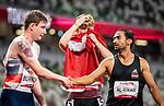 Zachary Gingras, Tokyo 2020 - Para Athletics // Para-Athlétisme.<br /> Zachary Gingras competes in the men's 400m T38 final // Zachary Gingras participe à la finale masculine du 400 m T38. 31/08/2021.