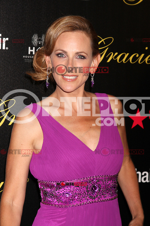 Marlee Matlin at the Alliance for Women in Media Foundation's 37th Annual Gracie National Awards at The Beverly Hilton Hotel on May 22, 2012 in Beverly Hills, California. ©mpi28/MediaPunch Inc.