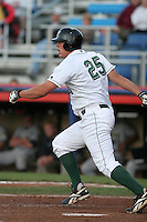 Jamestown Jammers Logan Morrison during a NY-Penn League game at Russell Diethrick Park on August 11, 2006 in Jamestown, New York.  (Mike Janes/Four Seam Images)