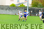 Eyes on the sliotar as Tralee Parnells Luke Chester and St Brendans Kieran Fitzgerald try for possession in the Intermediate Hurling Championship