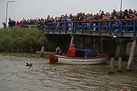 ZWEMMEN: FRYSLÂN: 19-19-08-2018, Elfstedenzwemtocht, Maarten van der Weijden, Harlingen, ©foto Martin de Jong