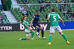 19.09.2020, wohninvest Weserstadion, Bremen, GER,  SV Werder Bremen vs Hertha BSC Berlin, <br /> <br /> <br />  im Bild<br /> <br /> Ondrej Duda (Hertha BSC #10)<br /> Joshua Sargent (Werder Bremen #19)<br /> <br /> Foto © nordphoto / Kokenge<br /> <br /> DFL regulations prohibit any use of photographs as image sequences and/or quasi-video.