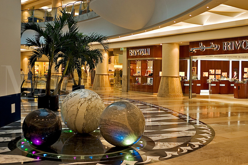 Dubai, United Arab Emirates. Bur Juman shopping mall.