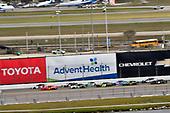 #20: Harrison Burton, Joe Gibbs Racing, Toyota Supra Dex Imaging abd #7: Justin Allgaier, JR Motorsports, Chevrolet Camaro BRANDT
