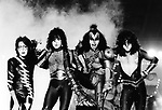 Kiss 1983 Ace Frehlay, Paul Stanley, Gene Simmons and Eric Carr