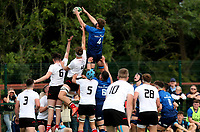 Saturday 4th September 20218 <br /> <br /> Michael Colreavy during U18 Schools inter-pro between Ulster Rugby and Leinster at Newforge Country Club, Belfast, Northern Ireland. Photo by John Dickson/Dicksondigital
