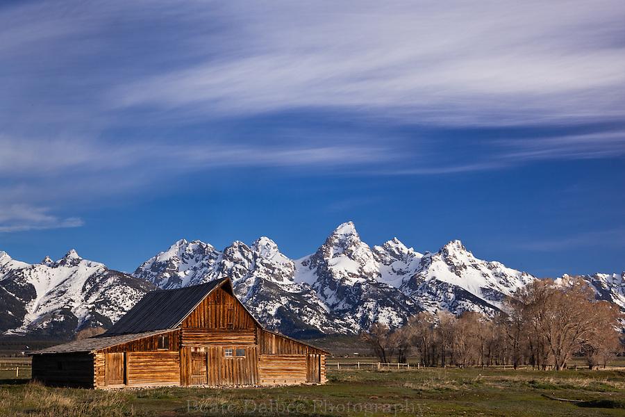 Moulton barn and Grand Tetons, Grand Tetons National Park, Wyoming