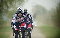 Paris-Roubaix 2012 recon..Frederik Willems