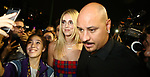 Guests at the Versace Fashion Show during the Milan's Fashion Week Women's wear Spring Summer 2019, in Milan on September 21, 2018. Chiara Ferragni,