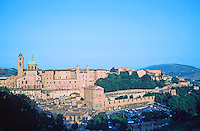 Urbino:  Town Panorama.   Photo  '83.