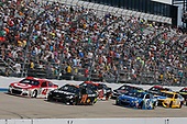 Monster Energy NASCAR Cup Series<br /> AAA 400 Drive for Autism<br /> Dover International Speedway, Dover, DE USA<br /> Sunday 4 June 2017<br /> Martin Truex Jr, Furniture Row Racing, Furniture Row/Denver Mattress Toyota Camry Kyle Larson, Chip Ganassi Racing, Target Chevrolet SS<br /> World Copyright: Matthew T. Thacker<br /> LAT Images<br /> ref: Digital Image 17DOV1mt1886