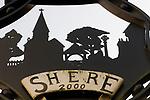 Shere village Surrey UK 2009.