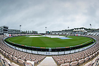 A wide view of a rain soaked Hampshire Bowl during India vs New Zealand, ICC World Test Championship Final Cricket at The Hampshire Bowl on 18th June 2021