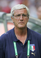 Marcello Lippi.  Italy defeated France on penalty kicks after leaving the score tied, 1-1, in regulation time in the FIFA World Cup final match at Olympic Stadium in Berlin, Germany, July 9, 2006.