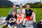 Enjoying a picnic and sitdown in the National park in Muckross on Sunday, l to r: Chantelle Blackburn, Roseanne, Joe, Kelsey and Joey Moynihan.