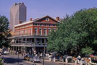 New Orleans, Louisiana.  French Quarter.  Upper Pontalba Building, Built 1850.